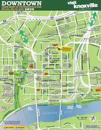 Tennessee City Map by Maps Visit Knoxville
