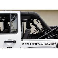 jeep wrangler 4 door innovative jk products rear seat recline kit for jeep jku wrangler