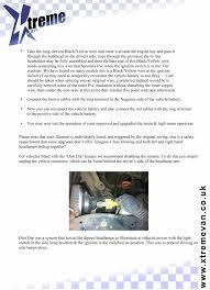 vw t4 headlamp upgrade kit inc drl u0027s vw t4 t5 xtreme van for