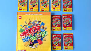 lego create the world trading card pack opening with pirate pat