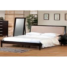 bedroom modern bedroom design with cal king bed frame and beige