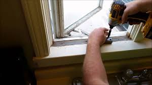 bay window replacement cost how to replace an andersen window crank youtube