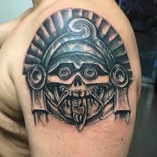 125 best aztec tattoo designs for men wild tattoo art