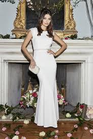 wedding dress quizzes lucia white pearl embellished bridal dress quiz clothing