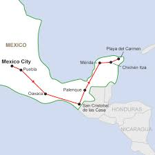 Oaxaca Mexico Map by Mexico Adventure A 15 Day Fun Group Tour In Mexico