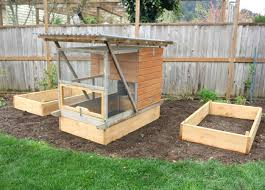 Raised Garden Bed Designs Build Raised Garden Beds For Your Chicken Coop Free Plans