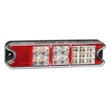 led trailer tail lights 10 30v led combination l stop tail indicator reverse trailer