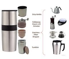 Manual Coffee Grinders Portable Small Coffee Grinder Ceramic Burr Manual Coffee Grinder