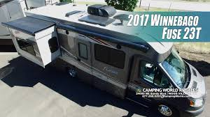 2017 fuse 23t class c motor home by winnebago andy kemi youtube