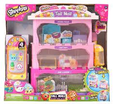 shopkins tall mall playset toys