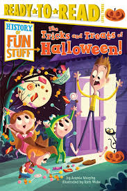 amazon com the tricks and treats of halloween history of fun