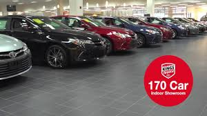 toyota car showroom kings toyota august 2016 annual clearance event youtube