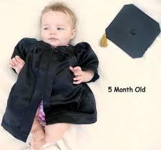 infant graduation cap and gown newborn infant and baby graduation cap and gown thank you sally