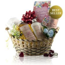 relaxation gift basket spa bath gift basket with scented oils lotion tea