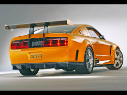ford mustang 2005 price 2005 ford mustang gt r concept rear angle 1600x1200 wallpaper