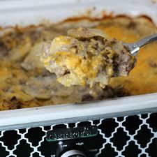 crock pot hamburger potato casserole recipe hamburger casserole