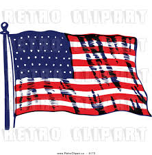Us Flag Vector Free Download American Flag Black And White Vector Clipart Collection