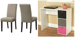 dhi nail upholstered dining chair set of 2 colors wheat 28
