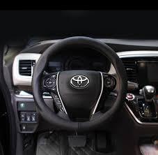 toyota rav4 steering wheel cover aliexpress com buy 38cm car leather steering wheel cover for