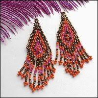 Red Chandelier Earrings Chandelier Earrings Great Vintage Earrings