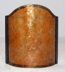 Wall Sconce Half Shades Mica Sconce Shield Half Shade Available Any Size Or Shape Amber Or