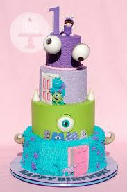 monsters inc and monsters university cakes and confections