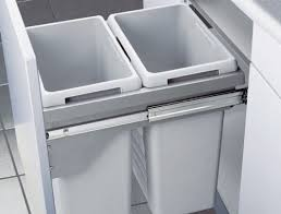 Pull Out Trash Can 15 Inch Cabinet Top 10 Best Built In Waste Bins Hideaway In Cabinet And Under