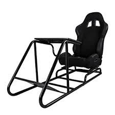 Race Chair Happybuy Gaming Seat Driving Race Chair Simulator