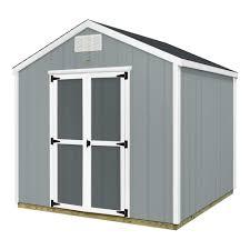 backyard discovery ready shed 8 x 8 prefab wood storage shed
