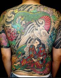tattoo dragon full back full back japanese samurai dragon tattoo design photo 1 photo