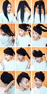braided pompadour hairstyle pictures 21 awesome ways to style your box braids and locs