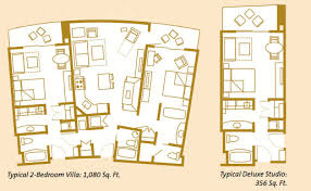 disney bay lake tower floor plan lake floor plan on floor plan 1 bedroom villa bay lake tower