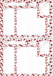 cahier de cuisine vierge template fiche recette n 4 by le récré d elfie fiches