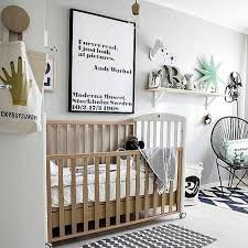 chambre bébé garçon design chambre bebe blanche moderne famille et bébé