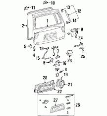 2003 toyota sequoia parts diagram automotive parts diagram images