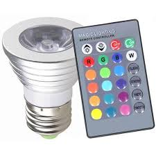 color changing light bulb with remote magic light color changing led light bulb with remote control 2