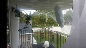 spooky man caught in spider web cheap halloween decoration diy