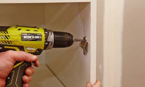 Bench Drill Bunnings How To Install Push To Open Hinges On Your Cupboards Bunnings