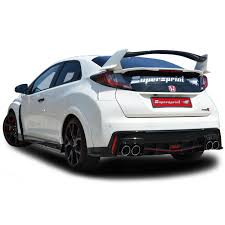 honda civic 2016 type r honda civic 2 0i turbo type r 310 hp sound with supersprint