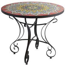 Mosaic Patio Furniture by Mosaic Patio Tables Pier1 Com Pier 1 Imports
