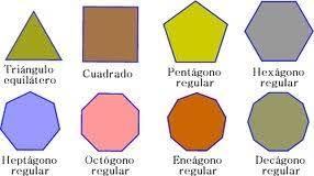 figuras geometricas todas polígonos regulares geometría en todas partes