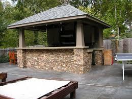 Outdoor Kitchen Cabinet Plans Kitchen Outdoor Kitchen Designs Plans With Modern Space Saving