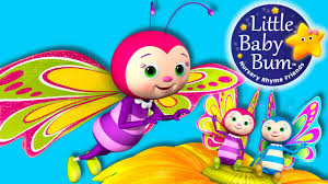 butterfly song nursery rhymes original song by littlebabybum