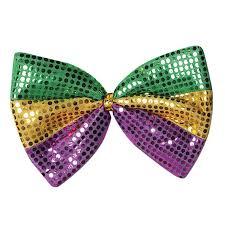 mardi gras bow ties jumbo mardi gras bow tie