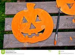Halloween Craft Project by Halloween Craft Project Royalty Free Stock Photo Image 28979305