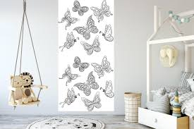 Peel And Stick Removable Wallpaper by Removable Wallpaper For Coloring Mural Peel U0026 Stick For Kids And