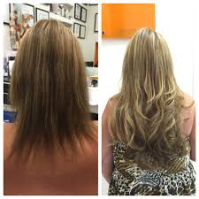Thin Hair Extensions Before And After by Chuck Alfieri Thin Hair Solutions Chuck Alfieri