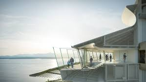 floor to ceiling glass doors space needle gets a 100m facelift with better views floor to