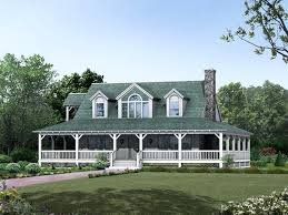 country home farmhouse with wrap around porch plans country home floor plans wrap