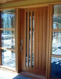 Exterior Doors Wooden 24 Wooden Front Door Designs To Get Inspired Shelterness